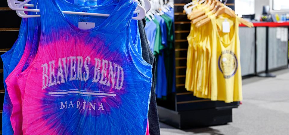 Beavers Bend Marina tshirt image